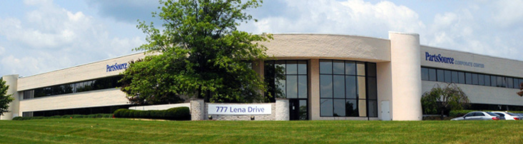 A large building with the sign that reads 777 Lena Drive